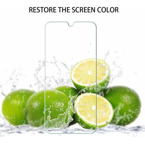geemee 2-pack para lg k50 / q60 / x6 2019 vidrio templado sc