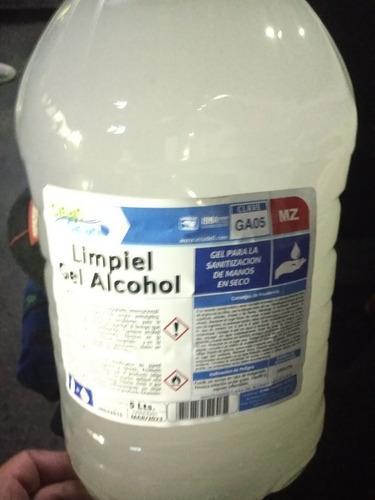 gel anti bacterial de 5 litros 70%alcohol