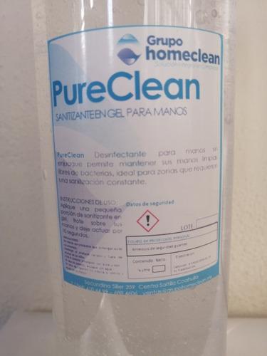 gel anti bacterial. puereclean 1l