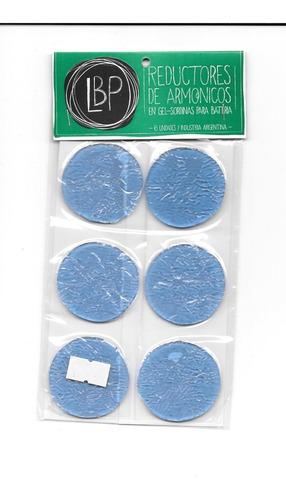 gel antiarmonico lbp para bateria x 6 u.