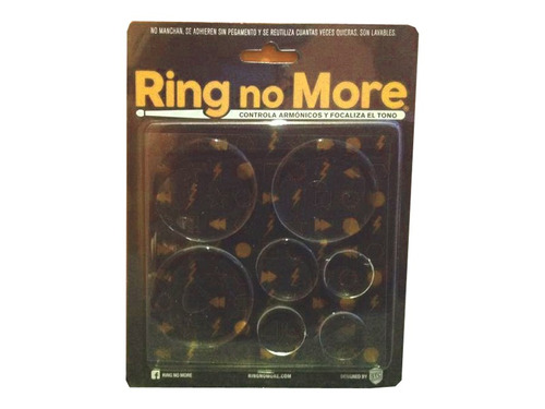 gel antiarmonicos ring no more para bombo de bateria x7u