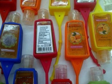 gel antibacterial      0.90 centimos partir    un millar