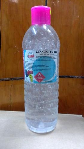 gel antibacterial 1 litro al 70% de  alcohol c/ glicerina