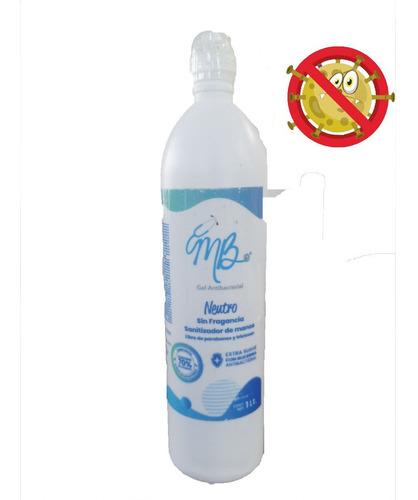 gel antibacterial 1 litro con dispensador 70% alcohol