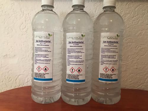 gel antibacterial 1 lt 4 lt y 20 lt.