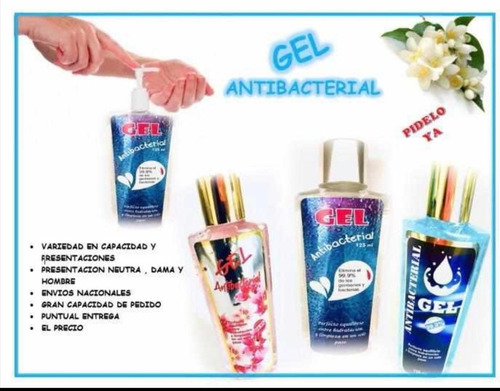 gel antibacterial 125 ml