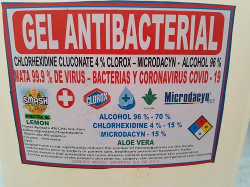 gel antibacterial 20 lts 1100