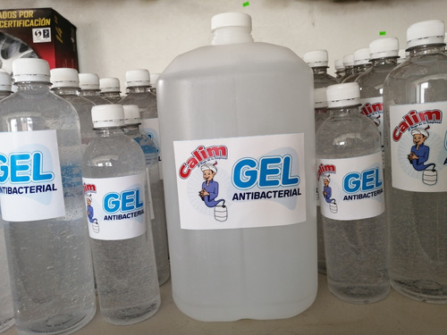 gel antibacterial 4 litros