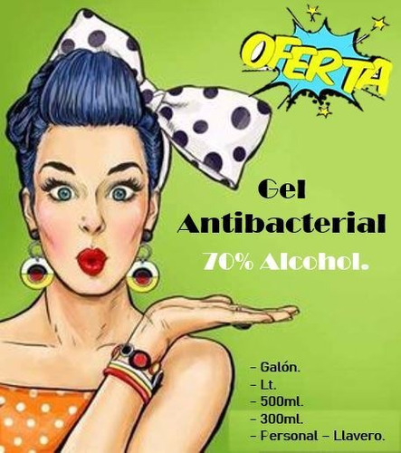 gel antibacterial 40 ml