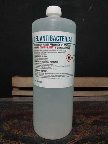gel antibacterial 70 %base de alcohol