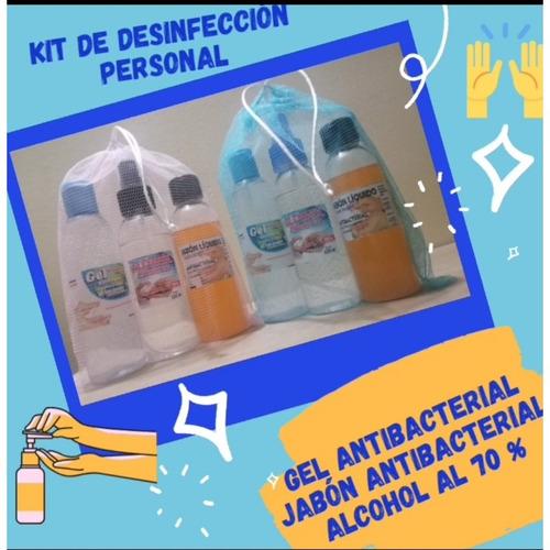 gel antibacterial +alcohol