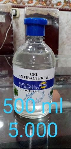 gel antibacterial, alcohol jabon al mayor y al detal