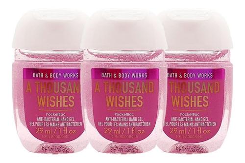 gel antibacterial bath & body works a thousand wishes 3pz