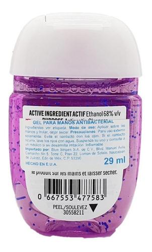 gel antibacterial bath & body works cactus blossom 29 ml