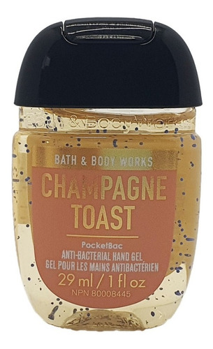 gel antibacterial bath & body works champagne toast 29 ml