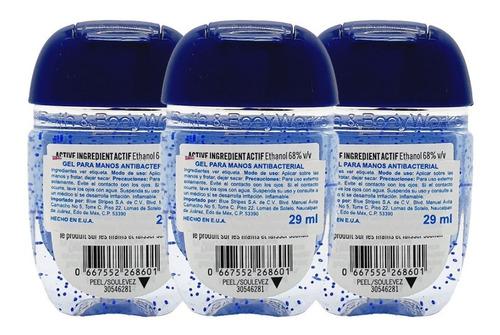 gel antibacterial bath & body works ginham kit 3pz