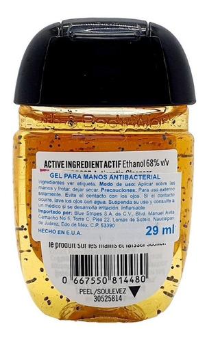 gel antibacterial bath & body works peach bellini 29 ml