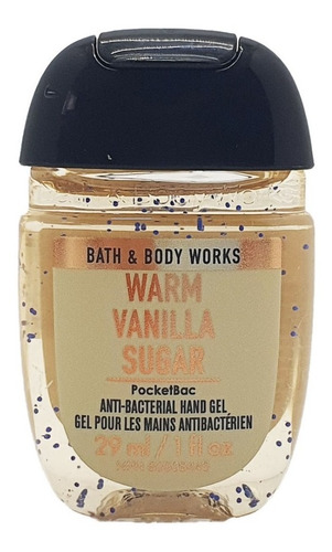 gel antibacterial bath & body works warm vanilla sugar 29 ml