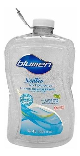 gel antibacterial blumen 4 litros
