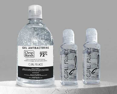 gel antibacterial capill france