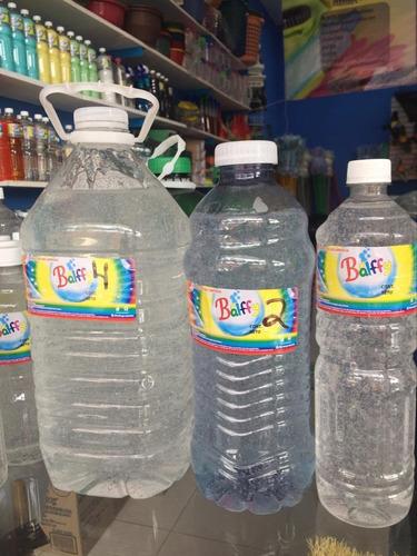 gel antibacterial con 70% de alcohol, listo para usarse