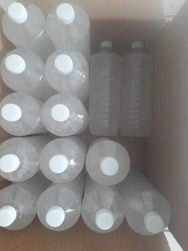 gel antibacterial de un litro . 70% alcohol