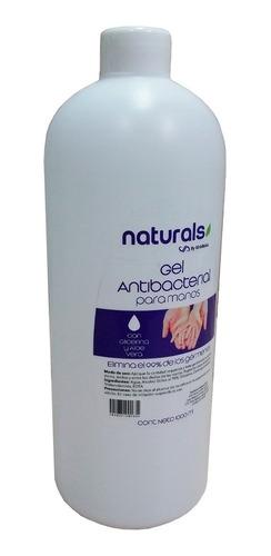 gel antibacterial desinfectante aloe vera litro