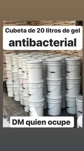 gel antibacterial desinfectante de manos 20 litros