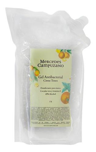 gel antibacterial doy pack 1 lt citrus tones