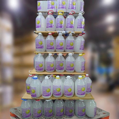 gel antibacterial mayoreo alcohol desinfectante manos 5l