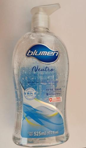 gel antibacterial neutro blumen original 525ml caja sellada