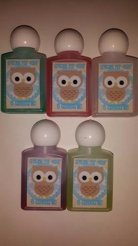 gel antibacterial o cremiitas artesanales para recuerdos