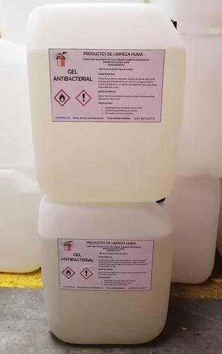 gel antibacterial presentación 20lts