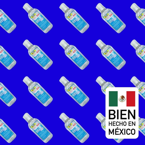 gel antibacterial presentación 60 ml con 70% alcohol