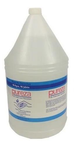 gel antibacterial pureza galon 3.78 lts (18vers)
