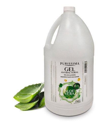 gel antibacterial purissima 1 galon 3,79 lts
