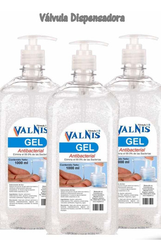 gel antibacterial x 1000 ml caja por 48 und a $12.000