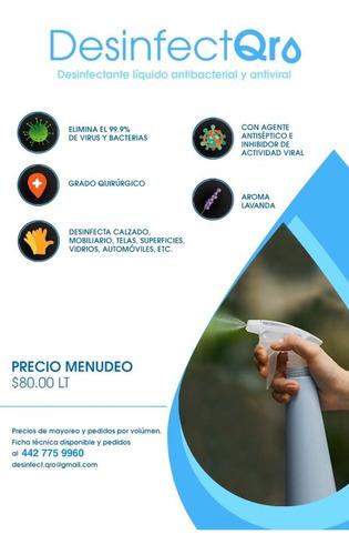 gel antibacterial y desinfectante con formula lysol