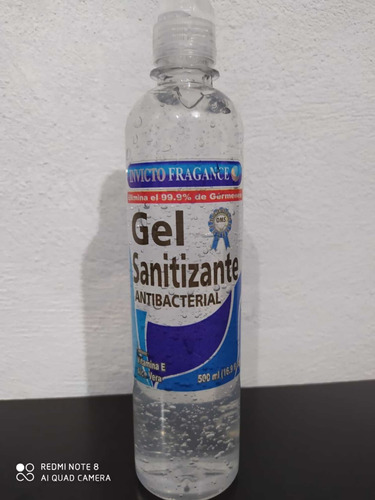 gel antibacterial y sanitizante