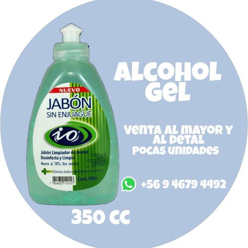 gel antibacterial/jabón sin enjuague