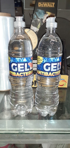 gel antibacteriano  litro