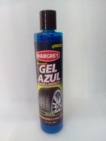 Gel Azul Margrey Brillo Para Llantas 490ml