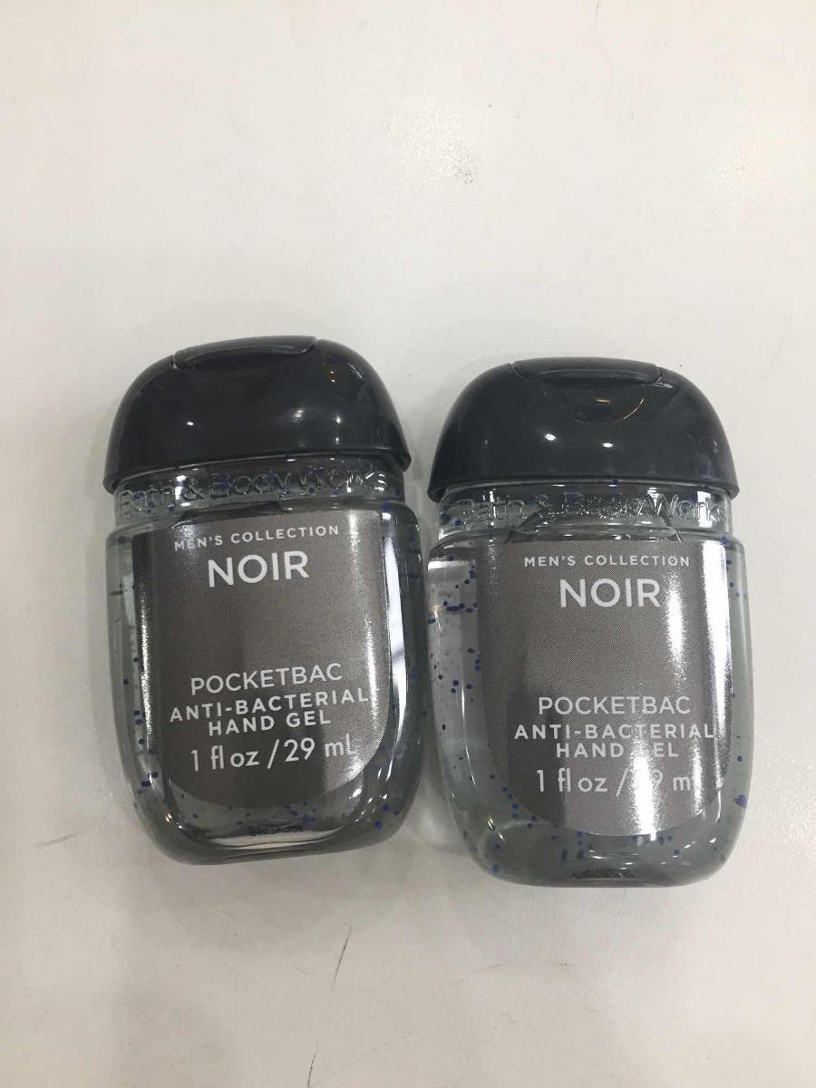 Gel Bactericida Bath Body Works Aroma Noir For Men Kit C2 R 25