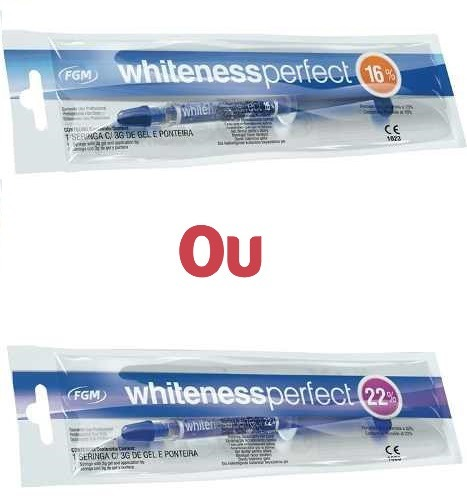 Gel Clareamento Dental Whiteness Perfect 16 Ou 22 Fgm R 24 98