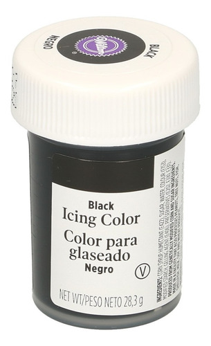 gel colorante para glaseado negro original