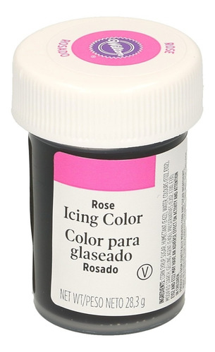 gel colorante para glaseado rosado original