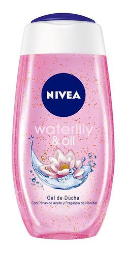 gel de ducha nivea waterlily & oil 250 ml