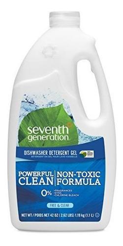 gel de lavavajillas de septima generacion botellas de 42 paq