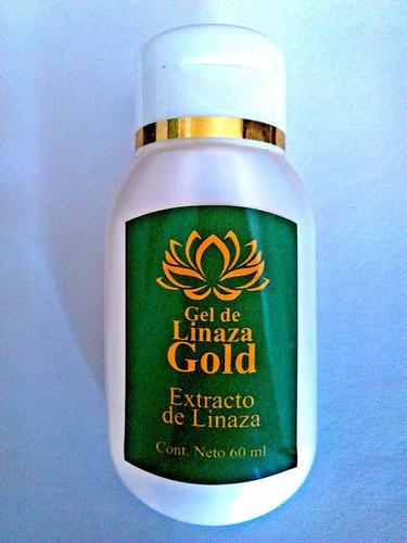 gel de linaza gold estrias arrugas piel reseca desmanchador
