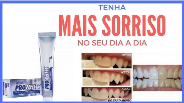 Gel Dental Clareador Pro White 90gr Hinode Pronta Entrega R 13